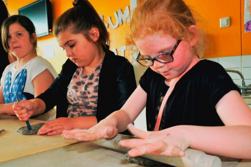 Manchester Youth Zone children baking