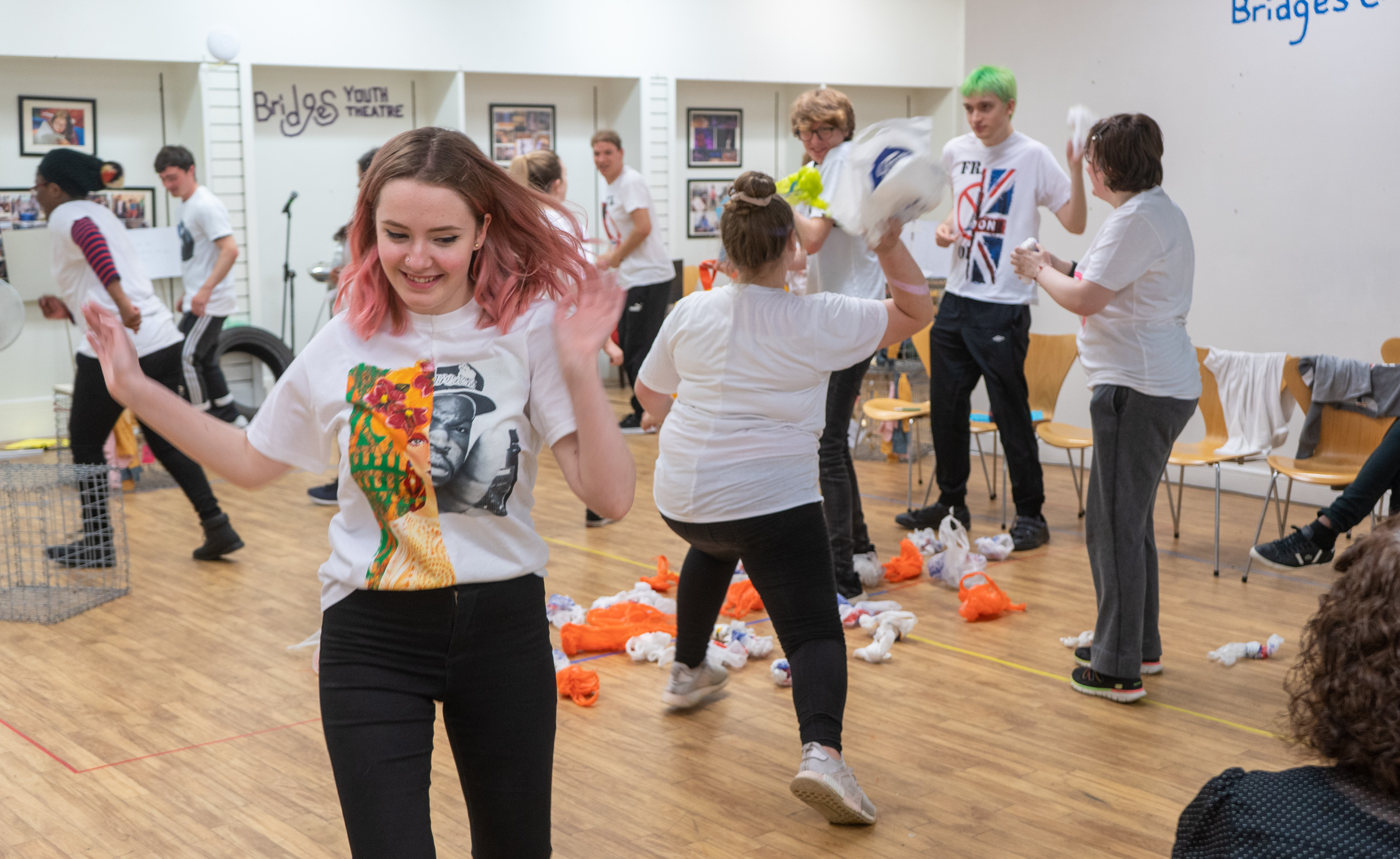 Octagon Theatre workshop young people